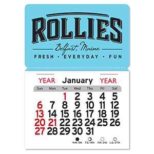 Item: 1025M -  Magnetic Peel-N-Stick® Calendars - Rectangle