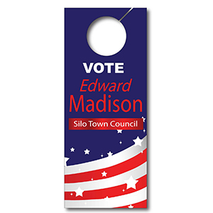 Item: T13037 - Totally Custom Paper Door Hanger