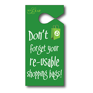 Item: T13054 -Totally Custom Semi-Rigid Vinyl Hanging Parking Tags