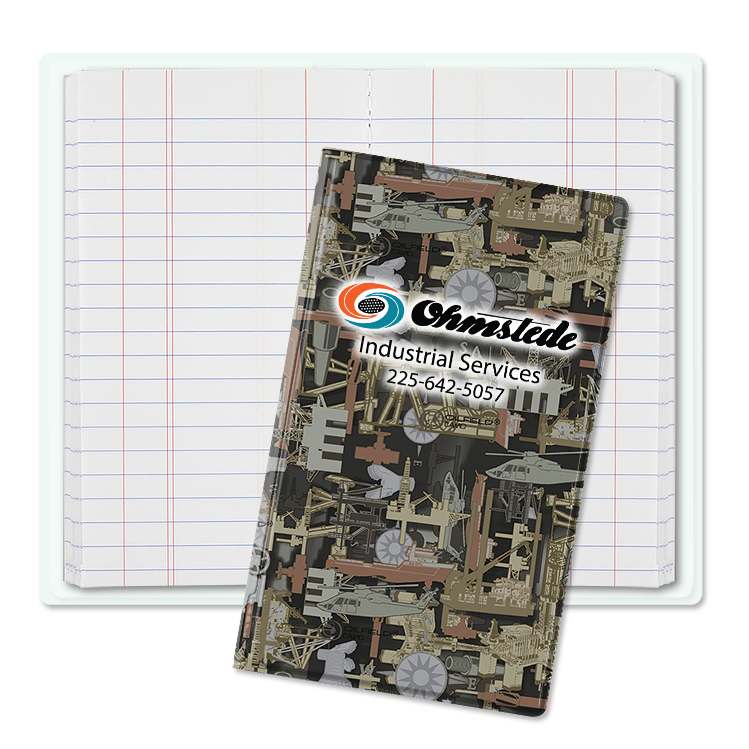 Item: 3430 - Oilfield Camo Tallybook Jr.