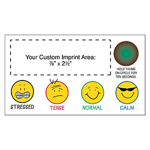 "Item:  MG19511 -""Grins"" Stress-Test  Business Card Magnet"