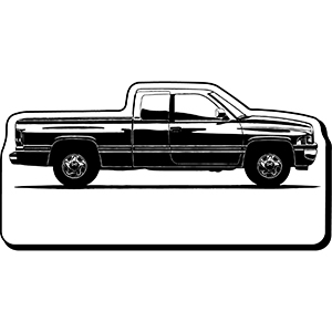 Item: Truck20 -  Indoor Notekeeper&#0153 Magnet